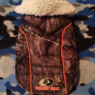 Camo jacket ( small dog) Free Shipping