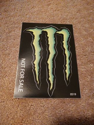 Monster Energy drink sticker M