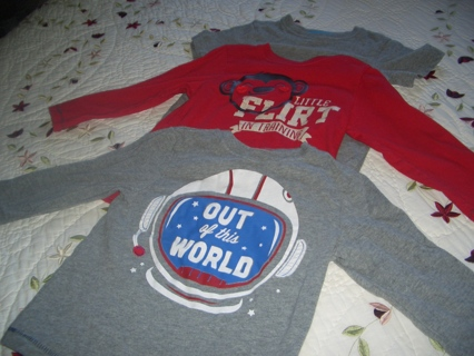 3T TOPS FOR YOUR LITTLE GUY!!