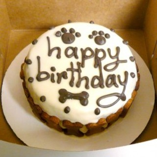 MAKE YOUR OWN HEALTHY DOG CAKE RECIPE