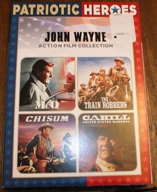 New John Wayne Patriotic DVD Collection