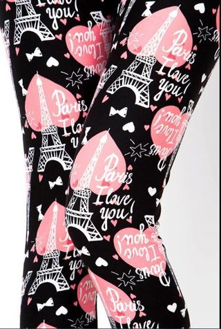 PLUS SIZE BLACK PINK PARIS LEGGINGS BUTTERY SOFT SIZES 12-20 NWT FREE SHIPPING!