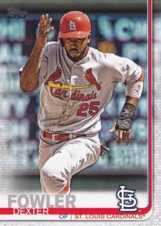 Dexter Fowler 2019 Topps St. Louis Cardinals