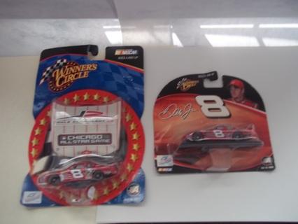 2 Dale Earnhardt Jr   1/24 Scale cars new in package 2003 &2004