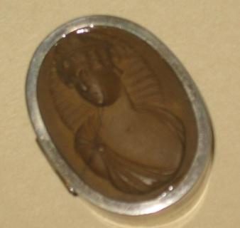 lava cameo silver box