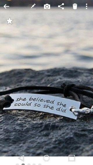 Inpirational Bracelet