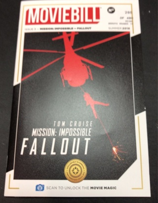 Movie Bill for Mission Impossible-Fallout