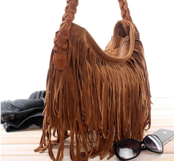 70ddd0c9ba Free  Boho-Celebrity-Fringe-Pocahontas-Purse! ADJUST to Long-Short ...