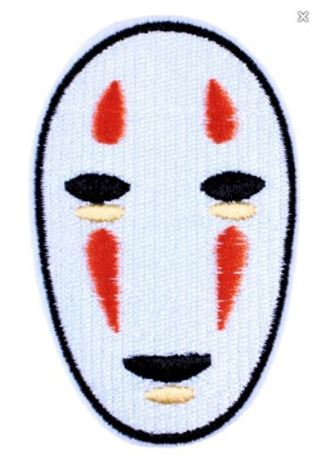 Spirited Away Embroidered Patch IRON ON Adhesive Applique Badge Anime Manga FREE SHIPPING