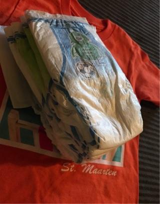 Brand new- children's t-shirt and 7 pull ups (2t)
