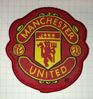 Manchester United Embroidered Cloth Iron On Patch