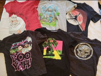 Boys M T-Shirt Lot!