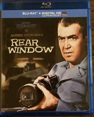 Alfred Hitchcock Rear Window (1954) Ultraviolet Digital HD Code NEW! James Stewart Grace Kelly