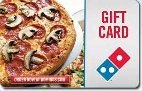 $4 Dominos digital gift card