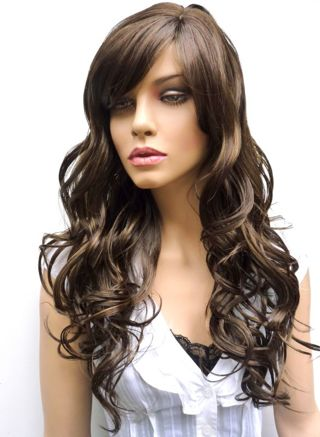 Beautiful Brunette Wig