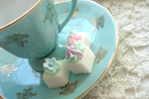 ***Diva Decorated Sugar Cubes*** Great for Tea Party or Events