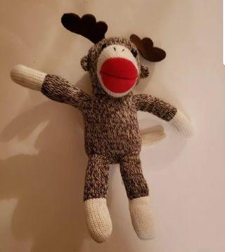 Sock monkey Plush #D
