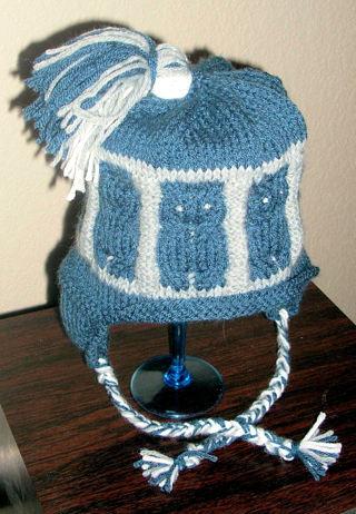 Free Sapiens Noctua Hat Pattern Knit Owl Hat Pattern Knitting