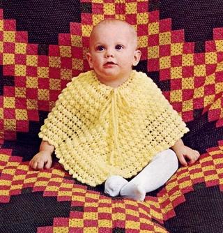 Free Baby Yellow Poncho Crochet Pattern Pdf Download Crochet