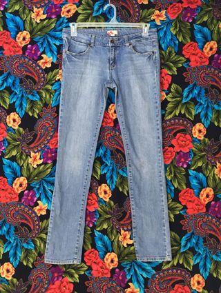 FOREVER 21 JEANS WOMEN'S BLUE JEAN PANTS