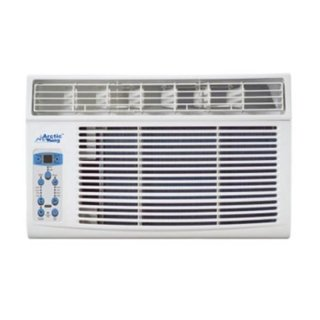 NEW! 8,000 BTU Remote Control Window Arctic King Air Conditioner! BRRRRRRRRR..