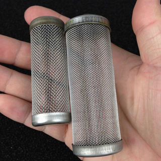Stainless Steel Filter Mesh Aquarium Filter Guard Fish Shrimp 12mm / 16mm