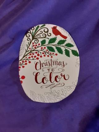 DIY CHRISTMAS TO COLOR SET 4