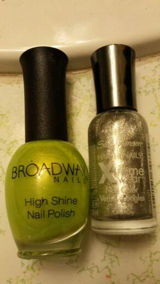 Brand new glitzy polishes