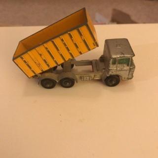 1968 Matchbox DAF Tipper Container Truck #47