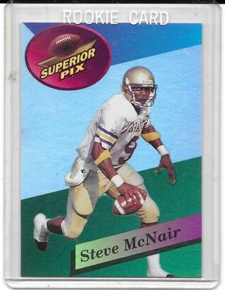Steve McNair 1995 Superior Pix Instant Impact #1