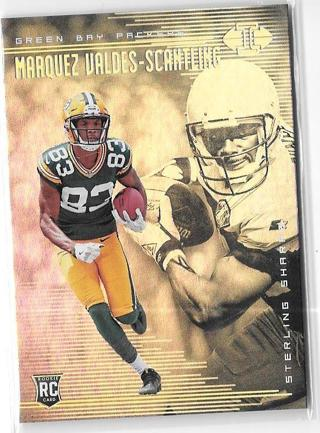2018 Panini Illusions #27 Marquez Valdes-Scantling - Sterling Sharpe