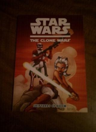 Star Wars The Clone Wars graphic novel