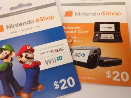 Free: $40 NINTENDO E-SHOP GIFT CARD CODES - Video Game