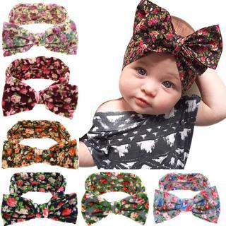 Baby Girl Headbands Turban Bandana Hair Band Infant Toddlers HeadWrap Hair Accessories Ear Bebe Pr