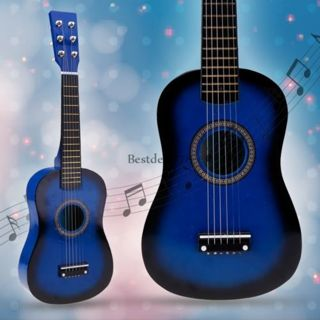 """Acoustic Guitar 6 String with Pick Children Kids Gift 21"""" Brand New! Perfect gift!"""