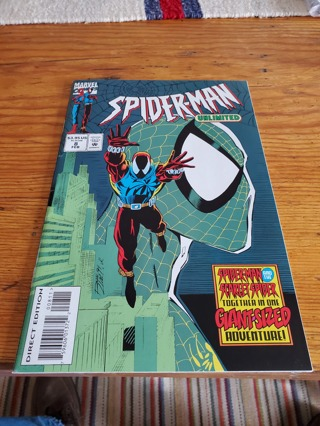 Spider-Man Unlimited #8 2/95 Marval