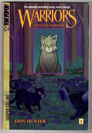 Manga Book The Lost Warrior Graphic Novel by Erin Hunter