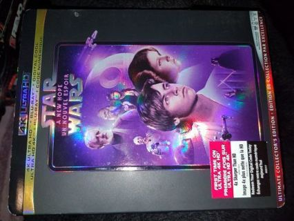 Star wars a new hope 4K GP ONLY CANADIAN CODE (UPDATE)