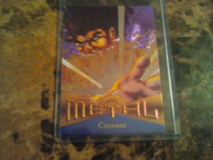 metal foil cards