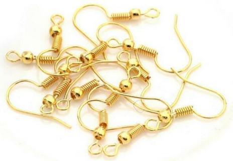 20pc GP Fish Hook Earrings Lot T2 (PLEASE READ DESCRIPTION)