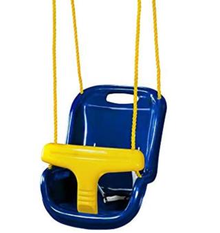 Gorilla Playsets 04-0032-B High Back Plastic Infant Swing