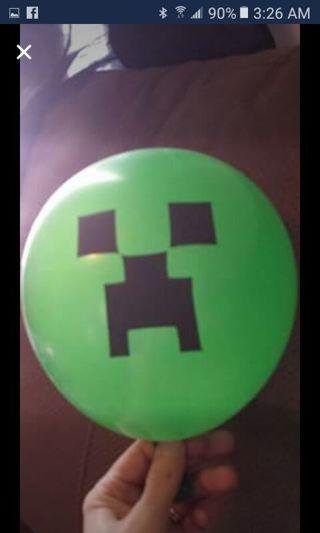 10 Minecraft balloons