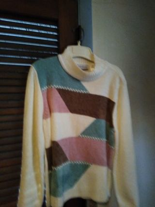 Alfred Dunner Pull- Over Sweater Size Petite Extra Large