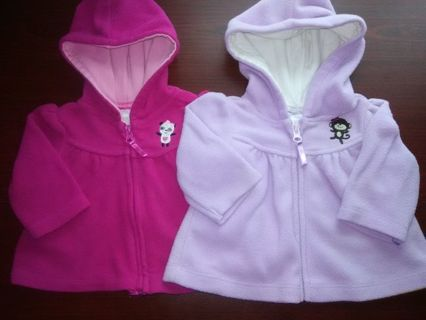 NWOT Baby Girls Jackets (READ DETAILS)