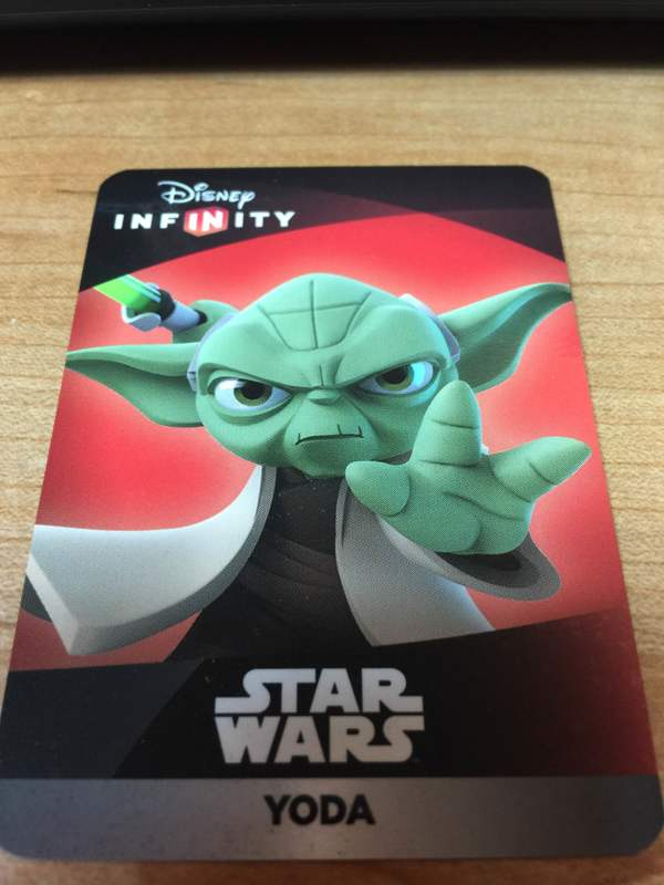 Free Disney Infinity 3 0 Yoda Web Code Video Game Prepaid Cards Amp Codes Listia Com Auctions