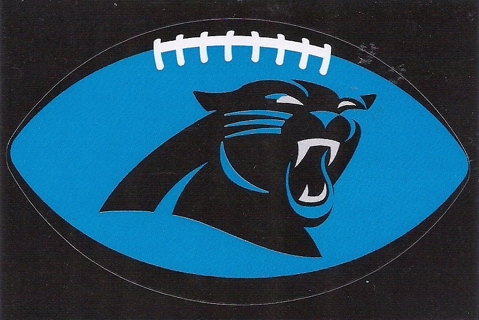 Brand New Never Been Used NFL Carolina Panthers Sticker