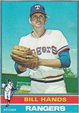 1976 TOPPS BILL HANDS CARD