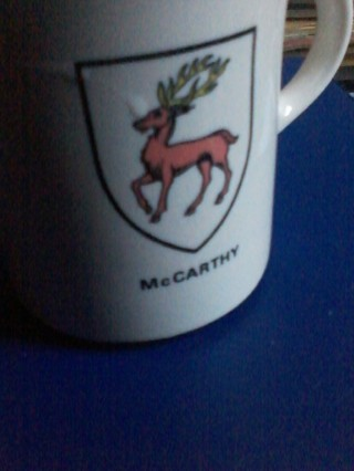 McCarthy Family Crest Mug
