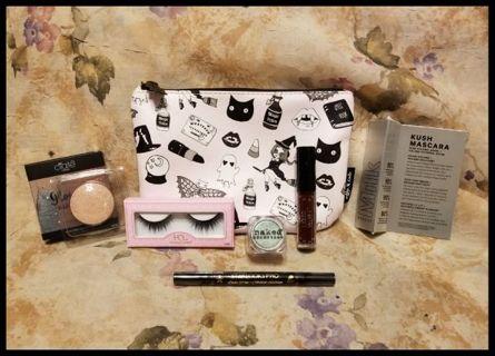 HALLOWEEN Makeup Bag, Highlighter, Lashes & More!