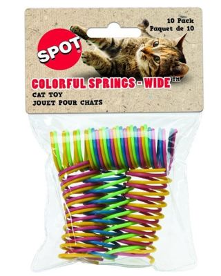 Ethical Wide Colorful Springs Cat Toy